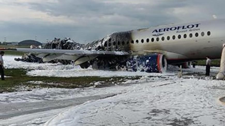 На эвакуацию пассажиров из Superjet потребовалось 55 секунд