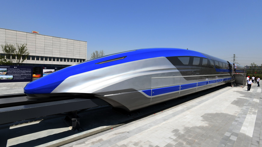 Самый быстрый поезд представили в Китае