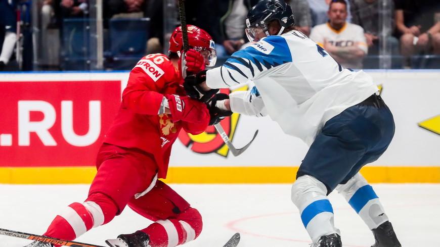 Битва за финал: сборные России и Финляндии сражаются в Братиславе