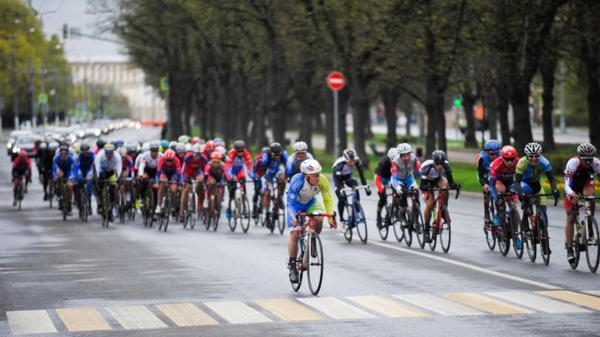 Белорус Соболь выиграл долгую велогонку «Пять колец Москвы»