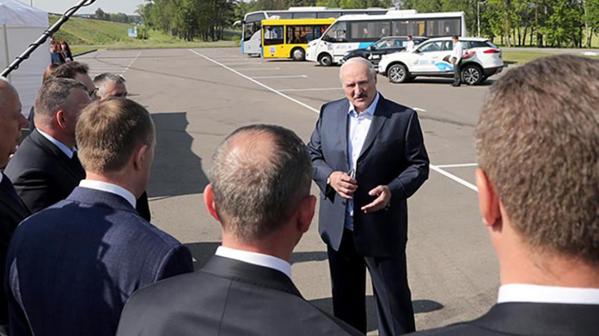 Лукашенко оценил качество дорог перед Вторыми Европейскими играми