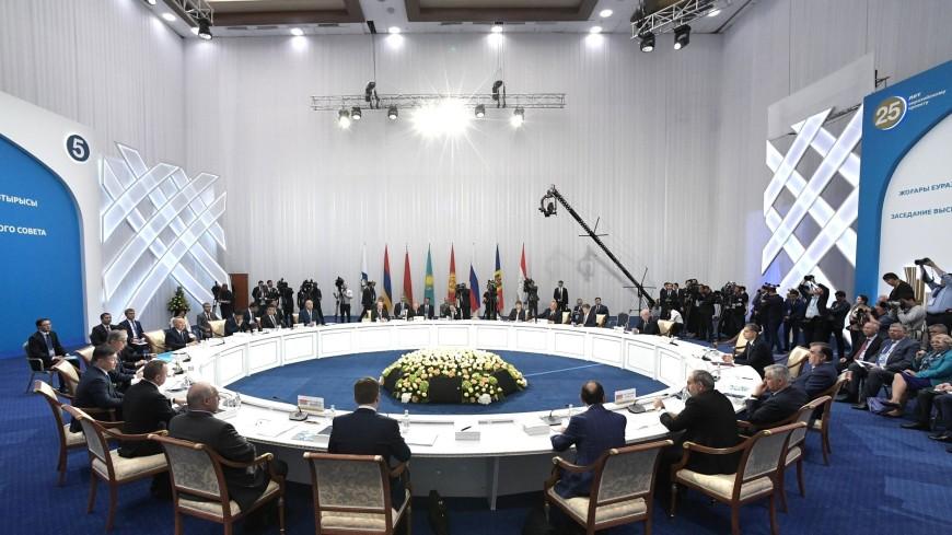 Лидеры ЕАЭС подписали 25 документов по итогам саммита в Нур-Султане