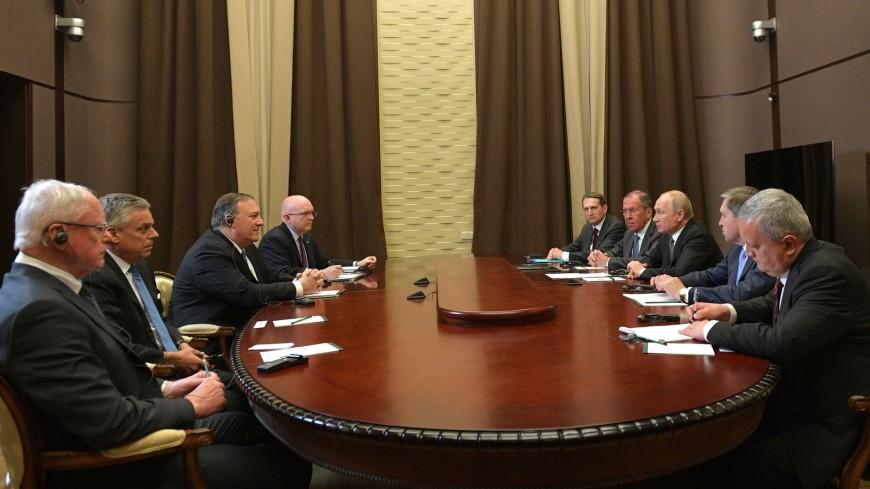 Встреча Путина и Помпео: между Россией и США подтаял лед недопонимания