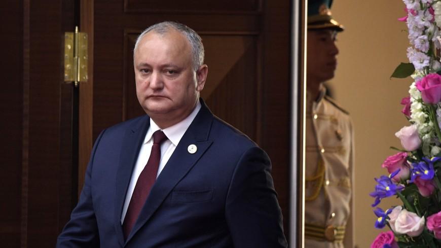 Додон предложил проводить мероприятия ЕЭК в Молдове