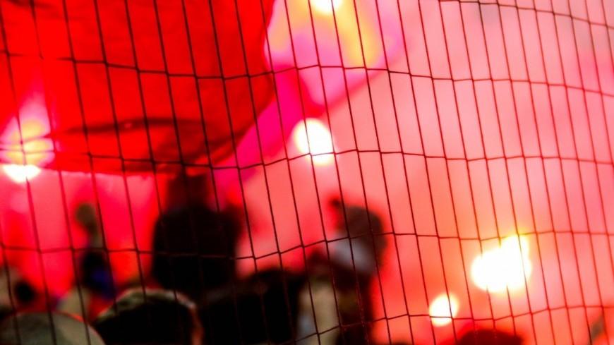 В Швейцарии остановили футбольный матч из-за агрессивного поведения фанатов