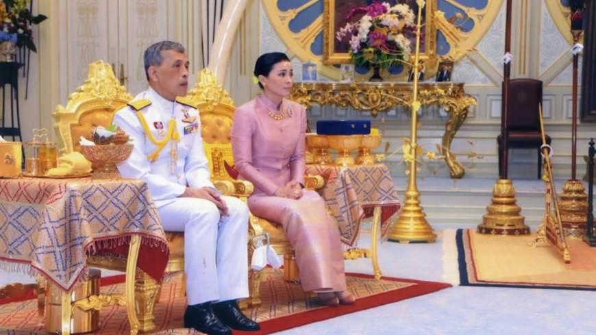 Корона в 7 кг и священная вода: как в Таиланде короновали Раму Х