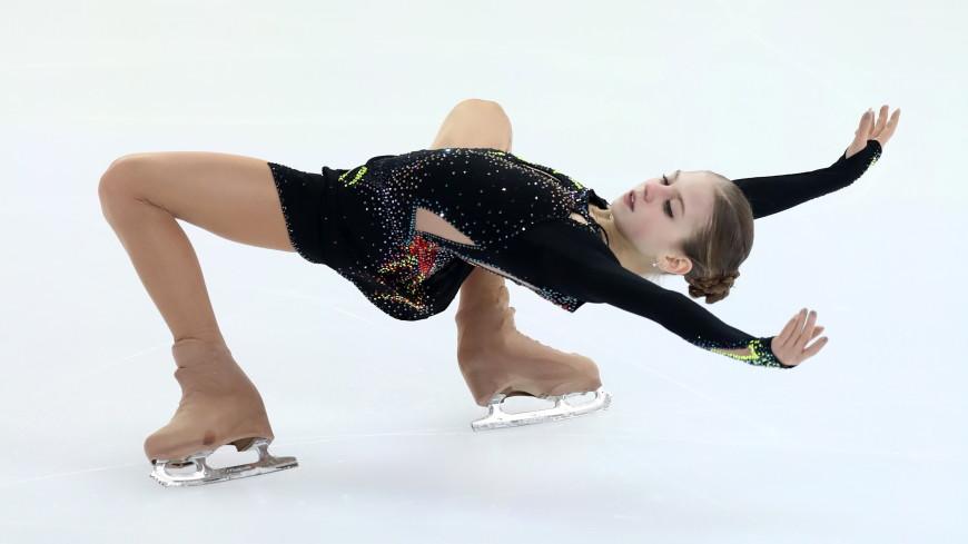Российская фигуристка Трусова стала лучшим молодым спортсменом Европы