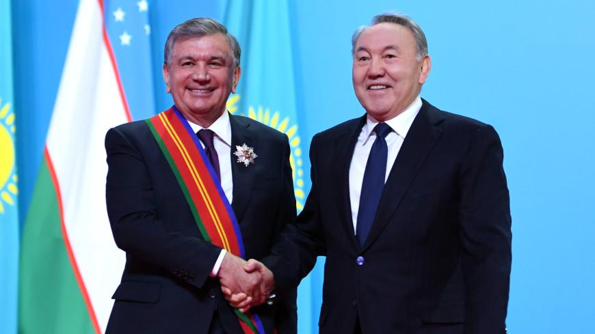 Мирзиеев поблагодарил Назарбаева за вклад в развитие отношений двух стран