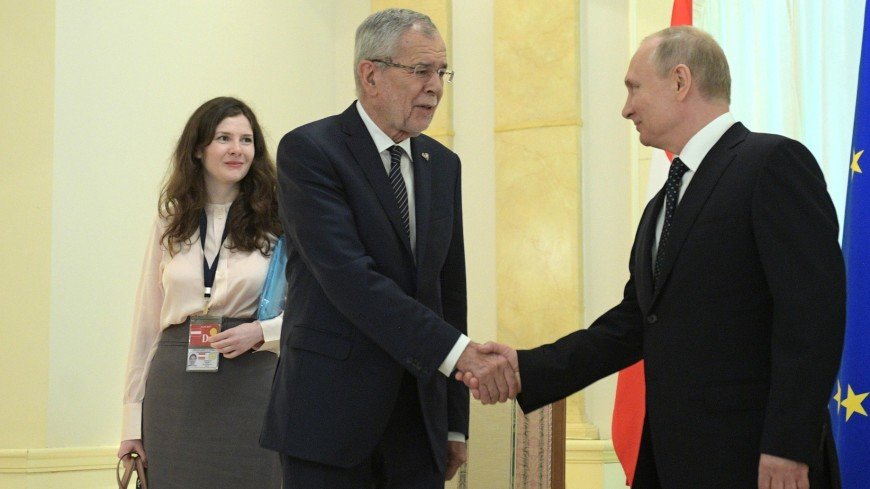 Встреча Путина и ван дер Беллена: что связывает президента Австрии с Россией?