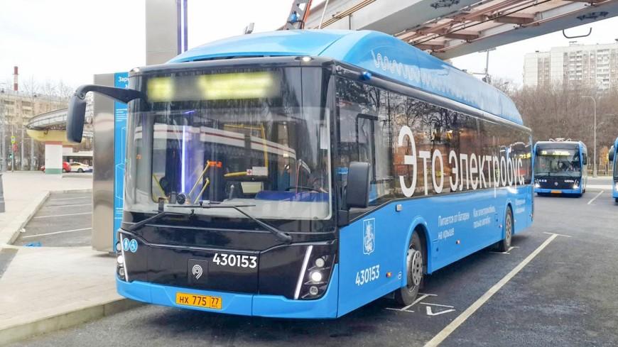 Москва стала лидером по количеству электробусов в Европе