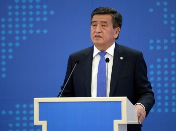 Жээнбеков: После вступления в ЕАЭС Кыргызстан достиг существенных успехов