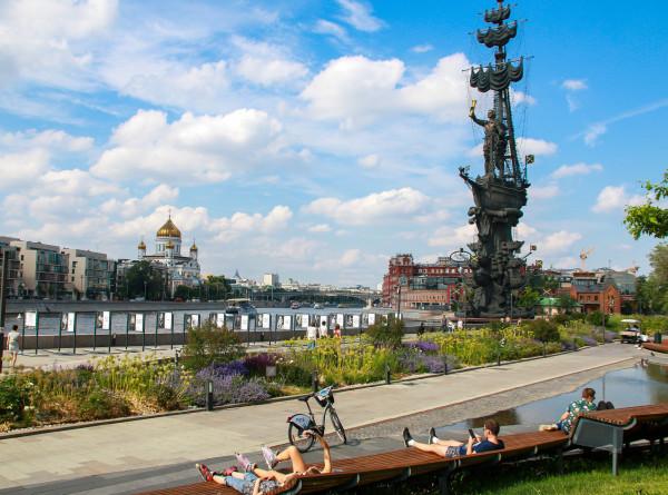 В Москву пришло аномальное тепло