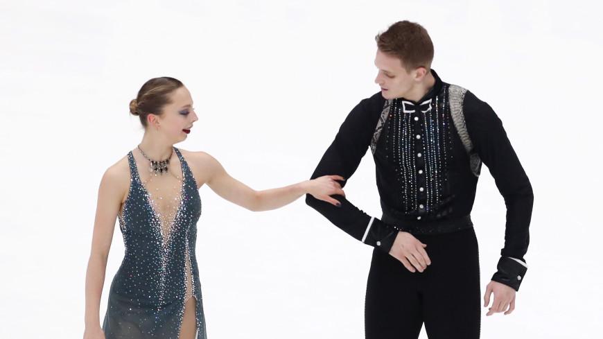 Бойкова и Козловский выиграли этап Гран-при по фигурному катанию в Москве