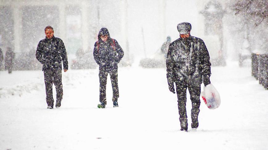 Москвичей предупредили о сильных заморозках и снеге