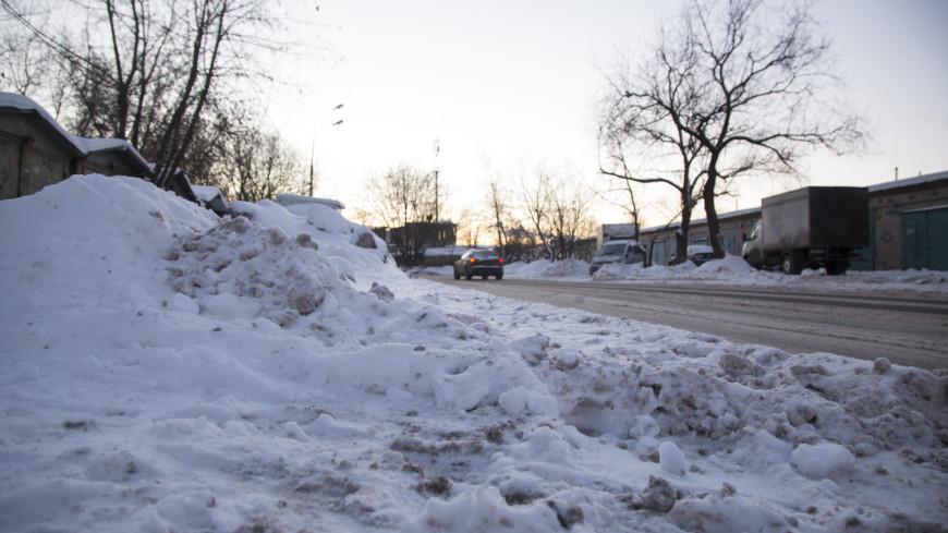 """© Фото: Татьяна Константинова, МТРК """"Мир"""", снег, подмосковье, зима, дорога"""