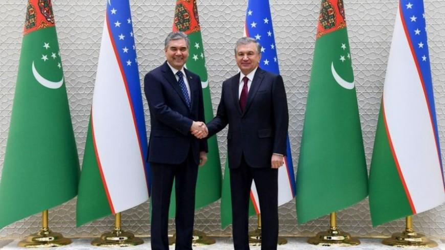 Мирзиеев и Бердымухамедов обсудили в Ташкенте перспективы сотрудничества