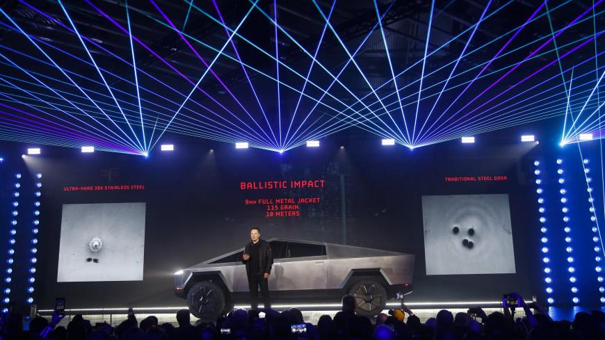 Илон Маск: Tesla получила 146 тыс. заказов на электропикап Cybertruck