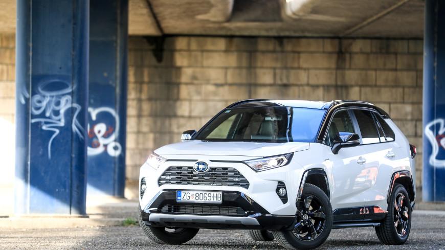 В Санкт-Петербурге начался выпуск нового поколения Toyota RAV4