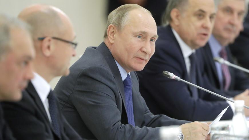 Путин сообщил, что 2022 станет годом культурного наследия народов РФ