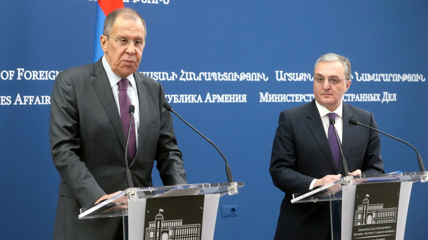 Глава МИД Армении назвал продуктивным визит Лаврова в страну