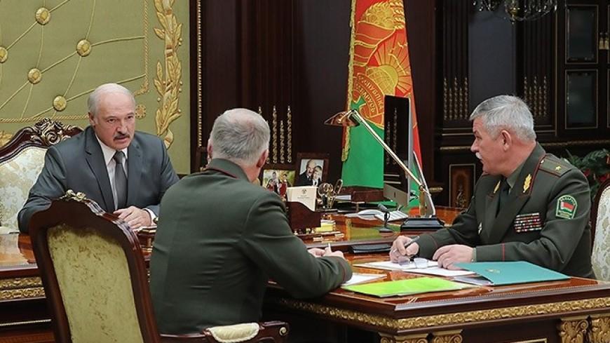 Лукашенко обсудил с госсекретарем Совбеза приграничное сотрудничество с Россией