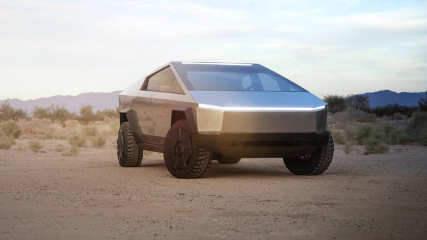 Илон Маск показал футуристический пикап Cybertruck (ВИДЕО)