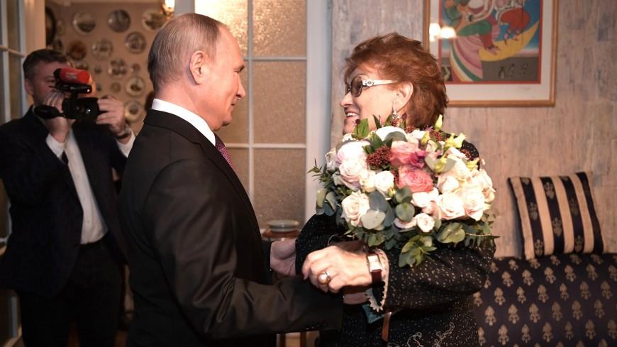 Путин: Вербицкая была выдающимся ученым