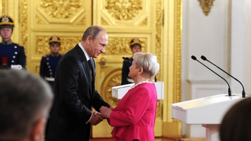 Путин и Лукашенко поздравили Александру Пахмутову с 90-летием