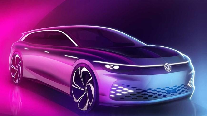 Volkswagen представит электромобиль из яблочного жмыха