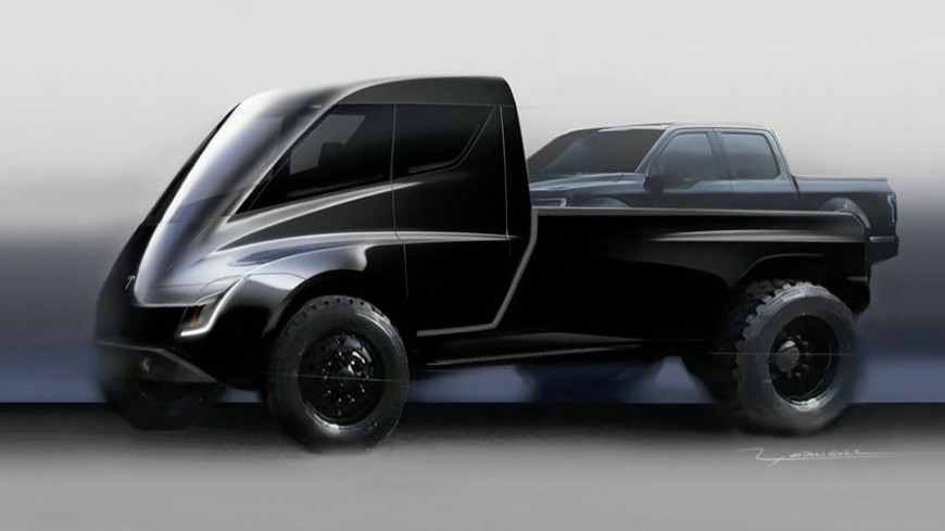 Футуризм на колесах: Илон Маск анонсировал премьеру первого пикапа Tesla