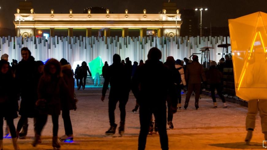 Этой зимой в московском Парке Горького увеличится площадь катка «Восход»