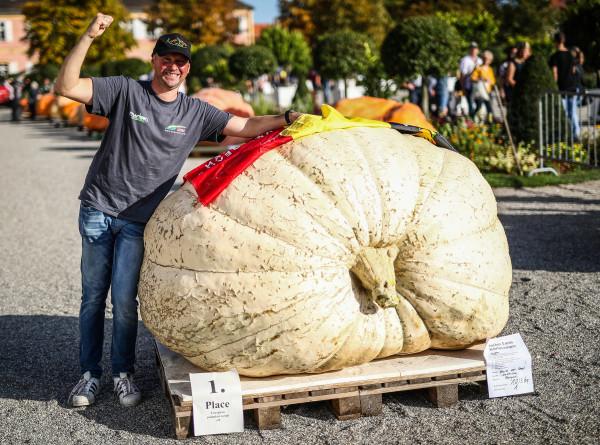 Больше 1000 кг: в Германии царь-тыкву выбрали под восторженные аплодисменты