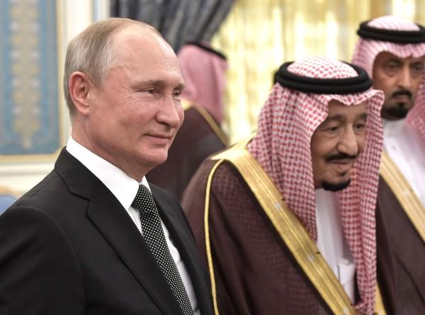 Путин: Товарооборот между Москвой и Эр-Риядом за два месяца вырос почти на 40%