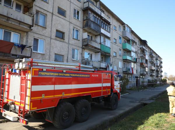 Около 20 квартир оказались поврежденными после обрушения в приморской пятиэтажке