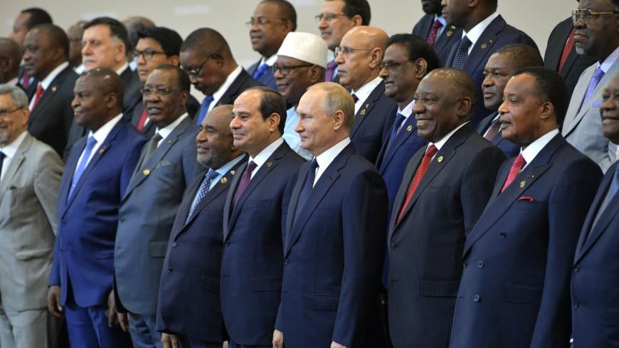 Путин поблагодарил африканских лидеров за поддержку российских резолюций