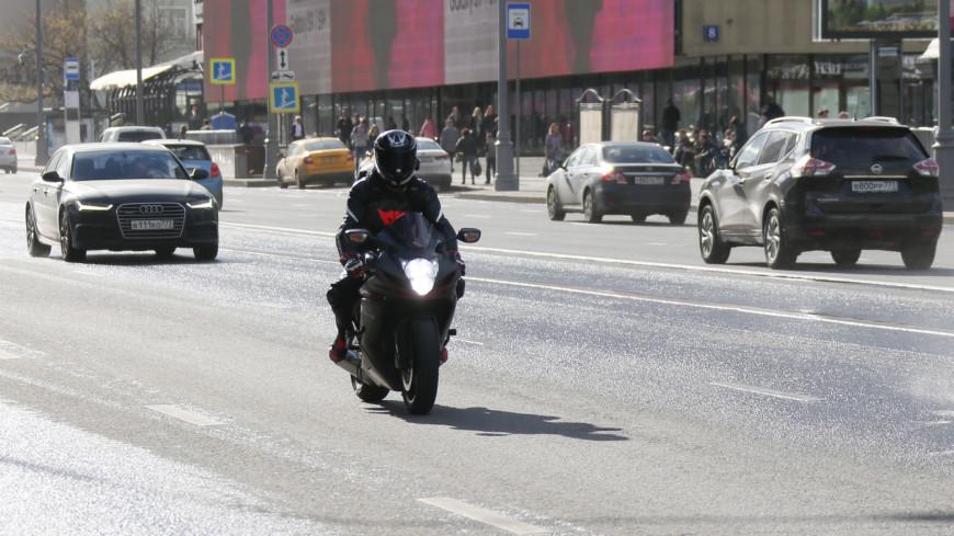 Московских мотоциклистов попросили закрыть сезон из-за плохой погоды