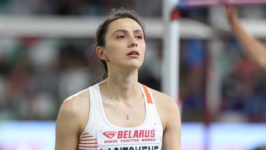 Ласицкене стала первой в истории трехкратной чемпионкой мира в прыжках в высоту