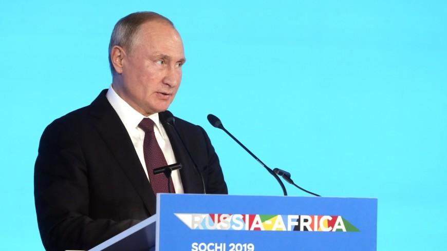 Путин: Россия может увеличить бюджетные места для африканских студентов