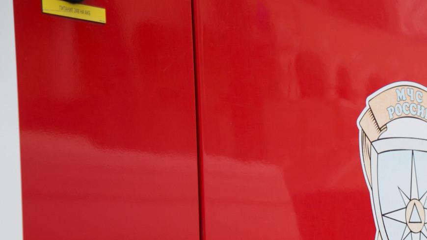 В Москве загорелся рейсовый автобус: перекрыт Алабяно-Балтийский тоннель