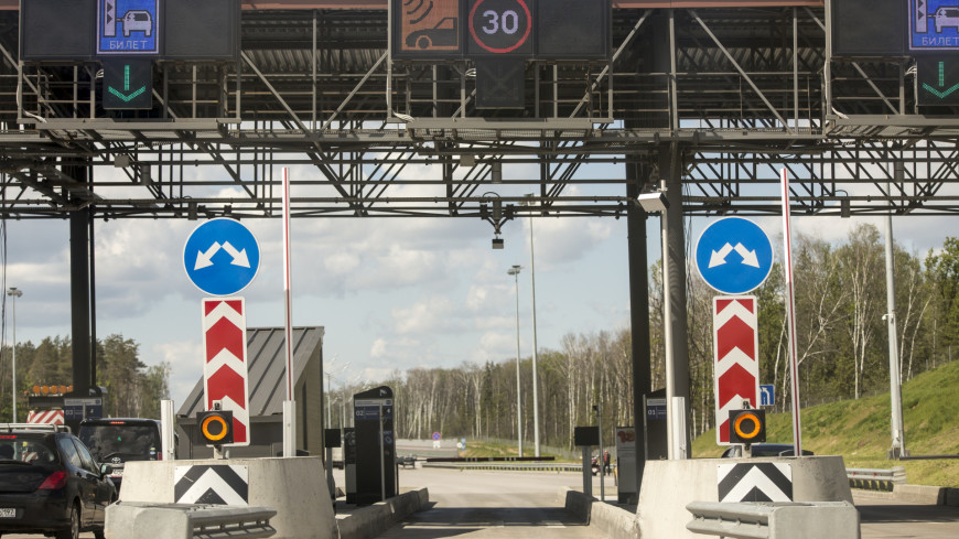 Названа стоимость поездки по автодороге Москва-Петербург