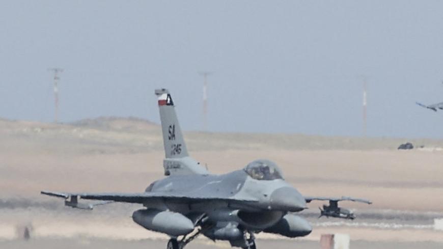 Истребитель F-16 ВВС США разбился в Германии
