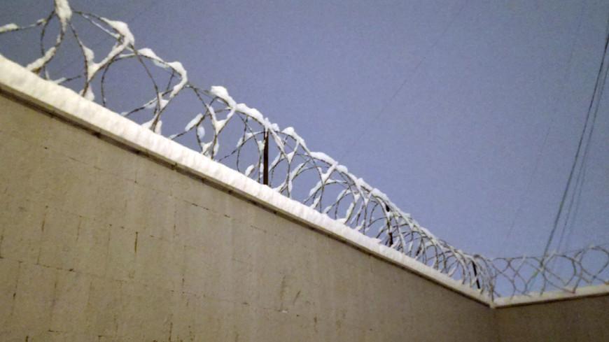 """Фото: Елизавета Шагалова, """"«МИР 24»"""":http://mir24.tv/, забор, тюрьма, заграждение, колючая проволока"""