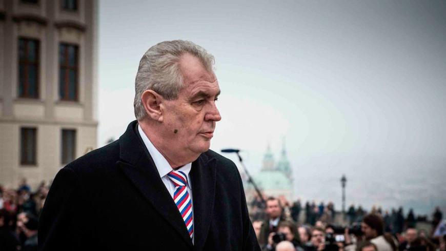 """Фото: Официальный сайт президента Чехии"":http://www.hrad.cz/en/, земан, милош земан"