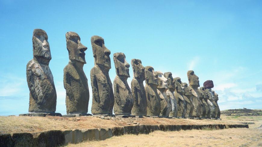 Истуканы с острова Пасхи оказались идолами плодородия