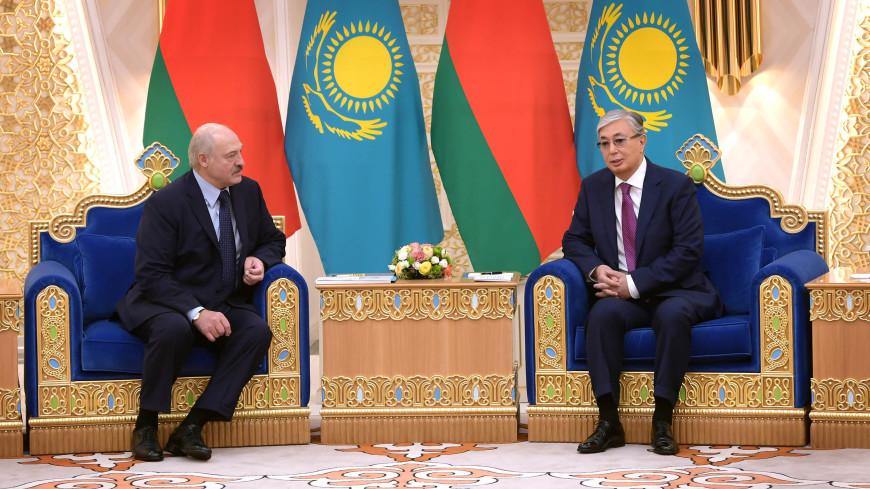Серьезные планы: Лукашенко отметил высокий уровень отношений с Казахстаном