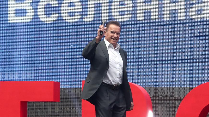 Шварценеггер назвал фантастикой стадион «Зенита» в Петербурге