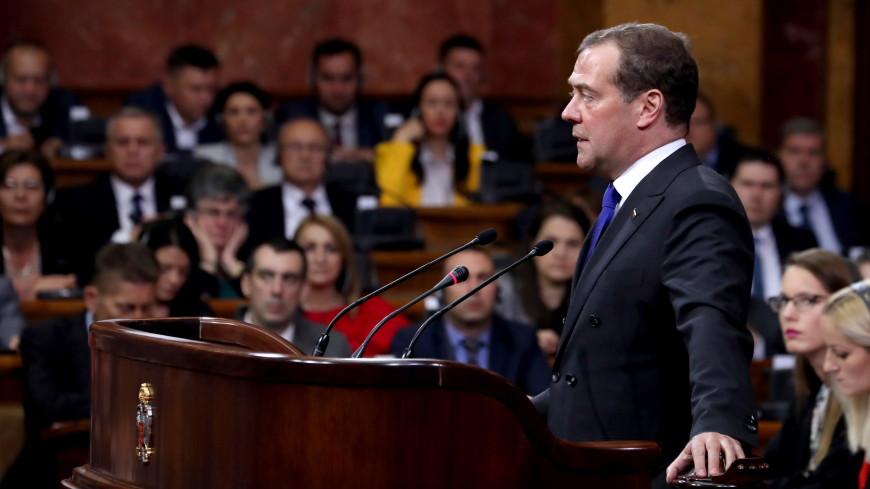 Медведев сообщил, что соглашение о ЗСТ между ЕАЭС и Сербией могут подписать 25 октября