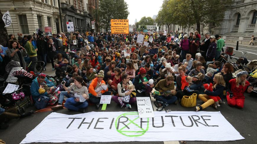 Акция экоактивистов: в Британии задержаны 583 человека