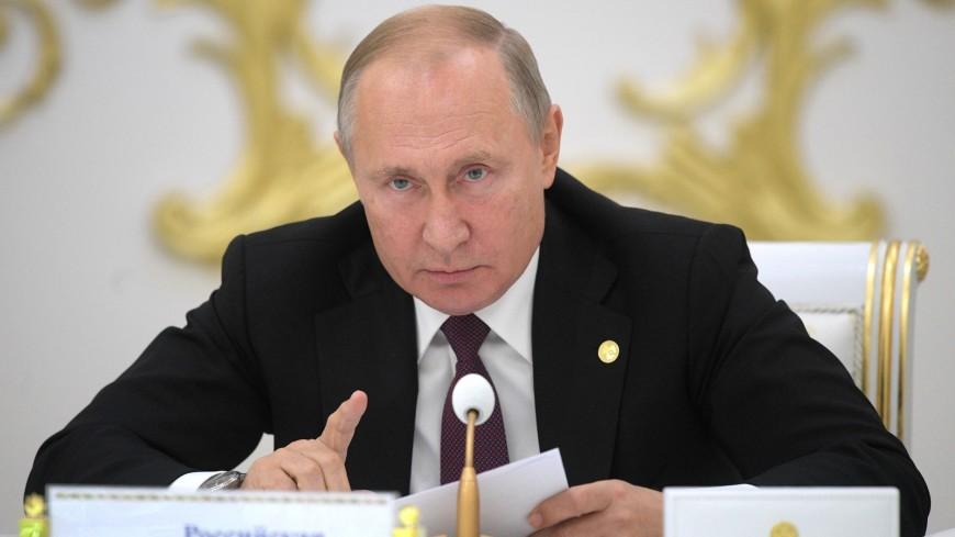 Путин призвал лидеров стран СНГ бороться с попытками оправдать нацизм