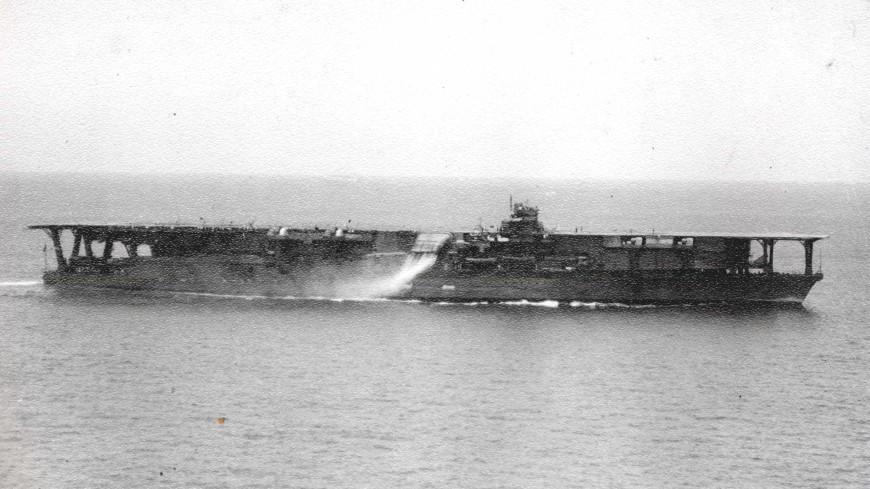 На дне Тихого океана нашли погибший авианосец времен Второй мировой войны